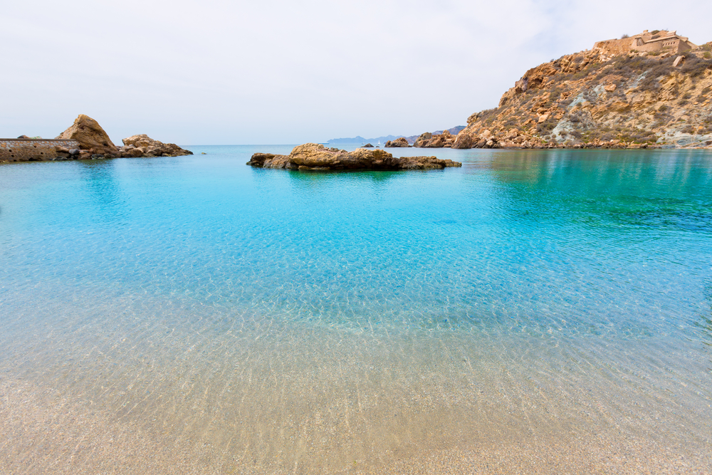 La Cala Cortina es una de las mejores playas de Cartagena