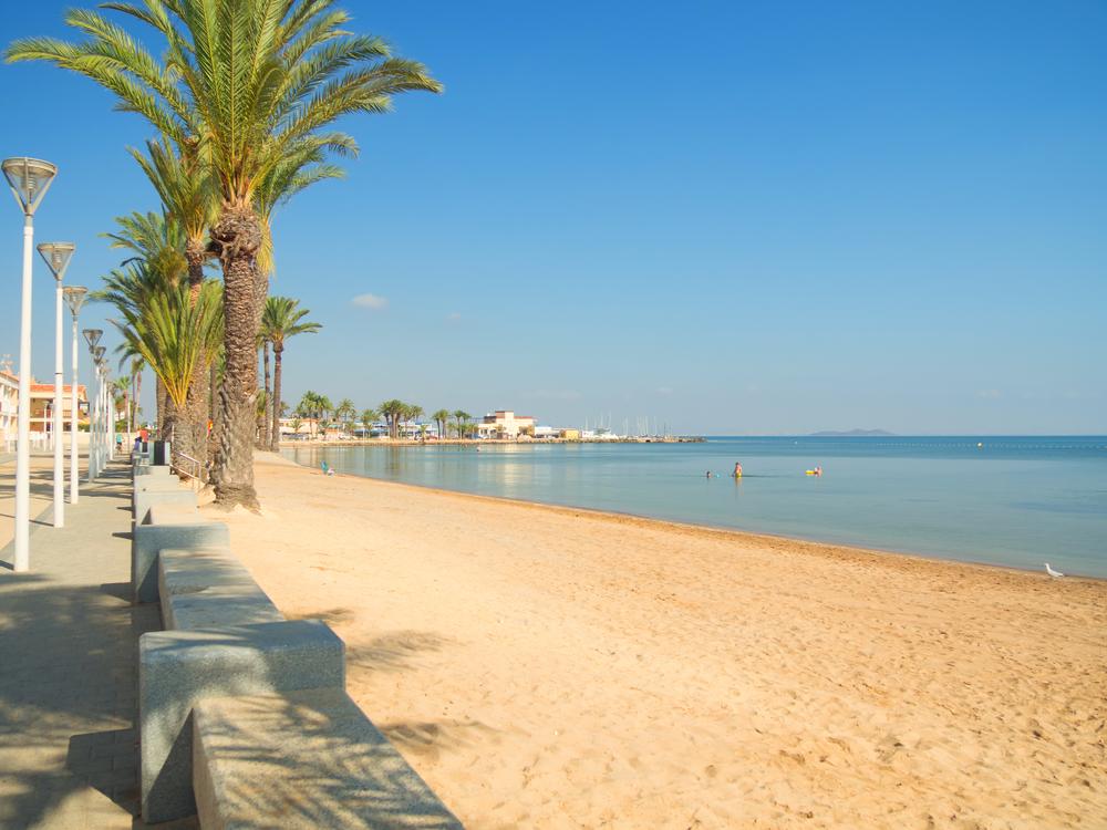La playa de Islas Menores es una de las mejores playas de Cartagena