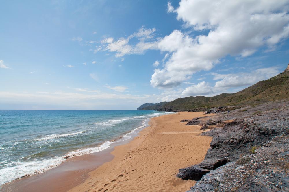 La Playa Calblanque es una de las mejores playas de Cartagena